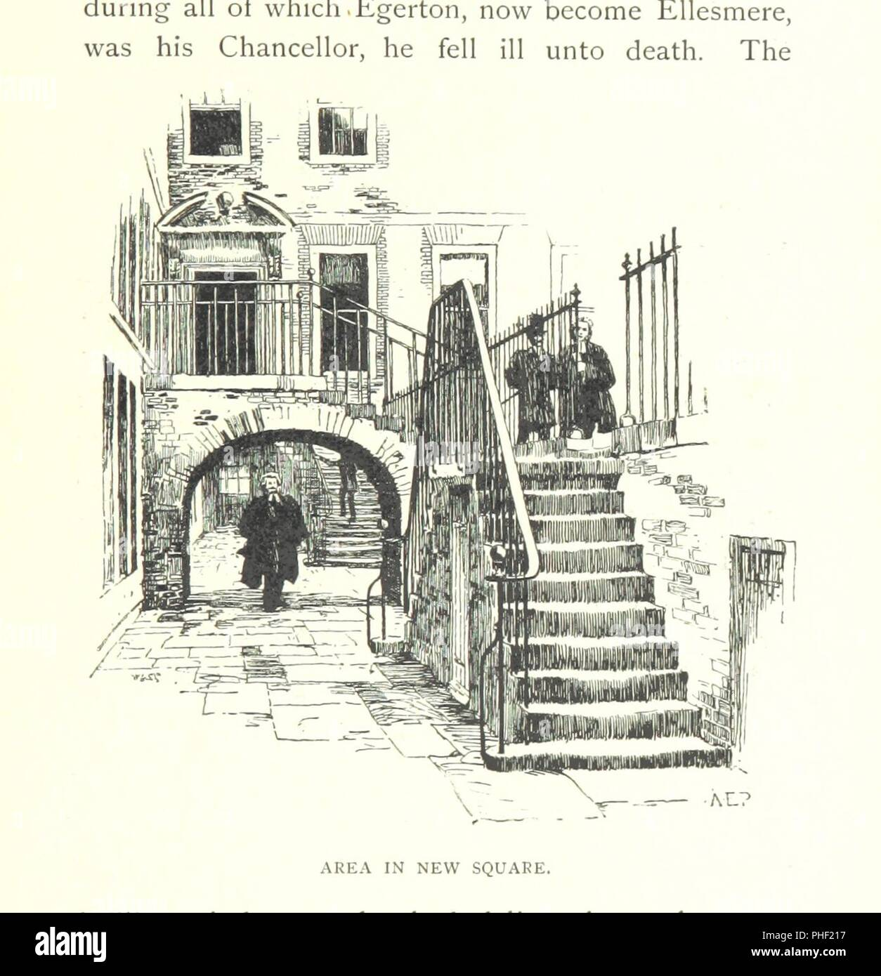 Image  from page 231 of 'The Inns of Court and Chancery . New edition' . - Stock Image
