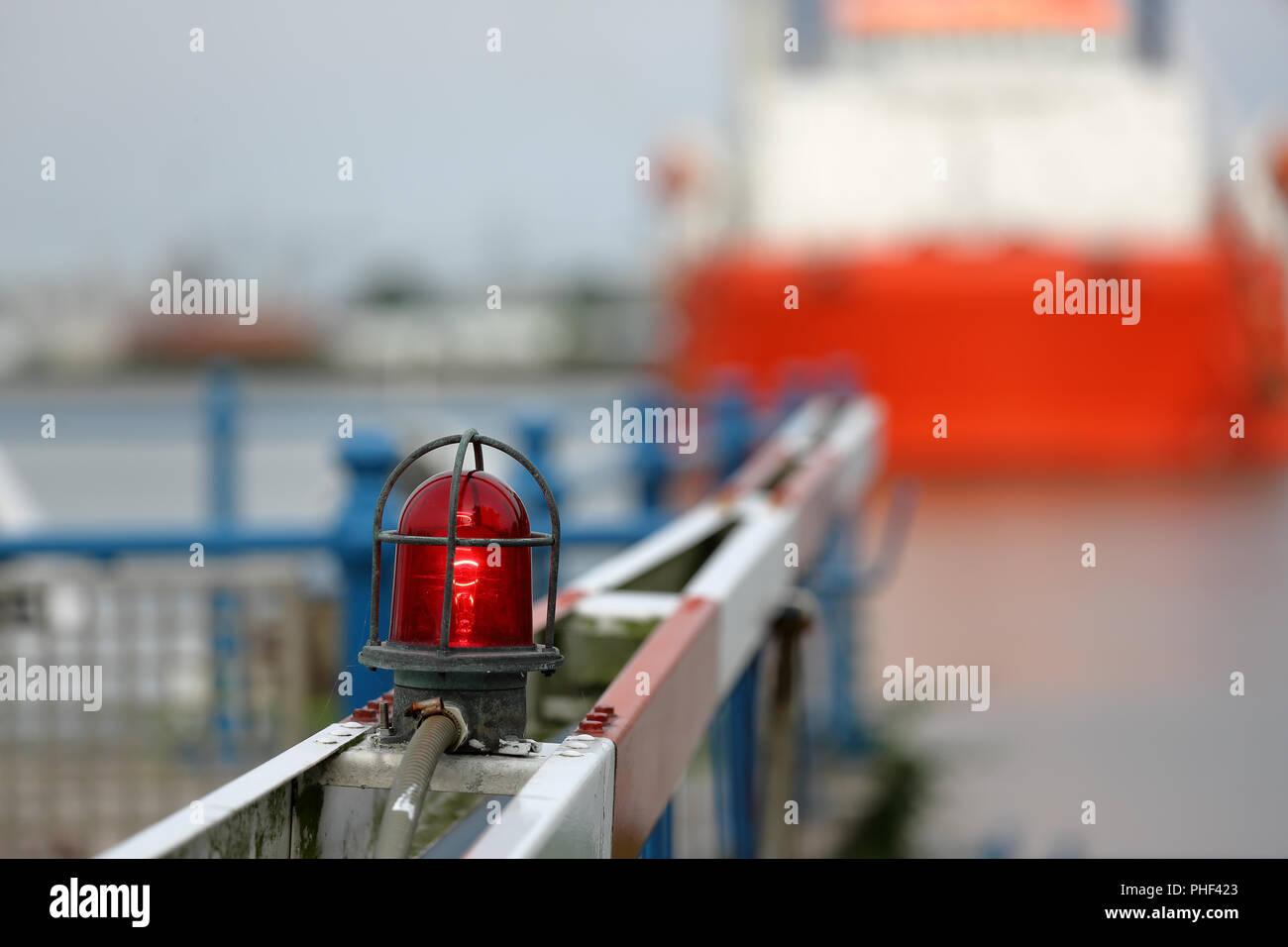 Flashing Light Warning Stock Photos & Flashing Light Warning