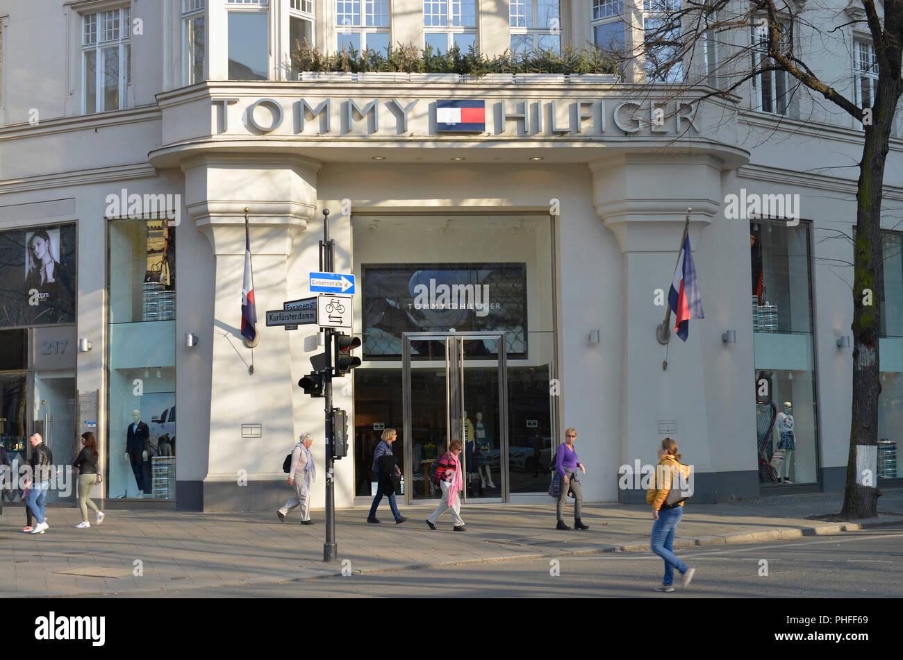 Tommy Hilfiger, Kurfuerstendamm, Charlottenburg, Berlin