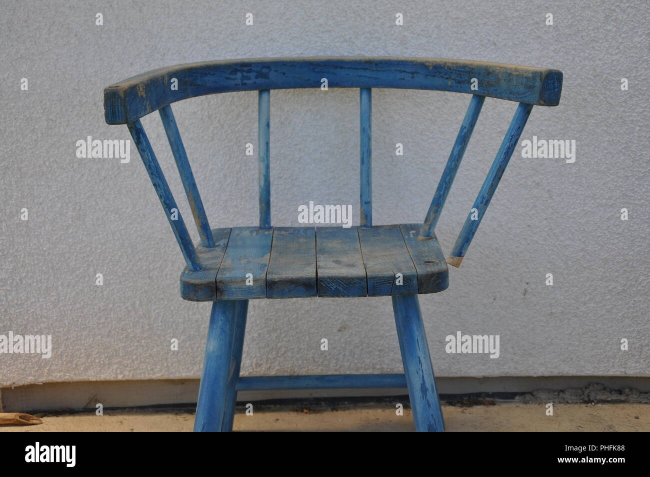Old chair - Stock Image