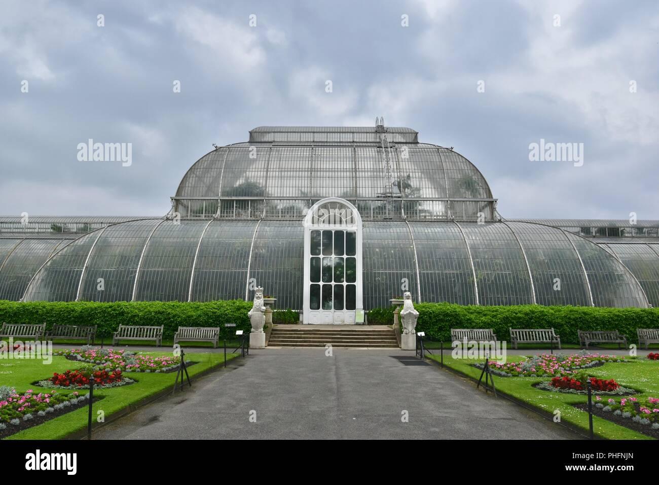 A view of Kew Royal Botanical Gardens, London, United Kingdom - Stock Image