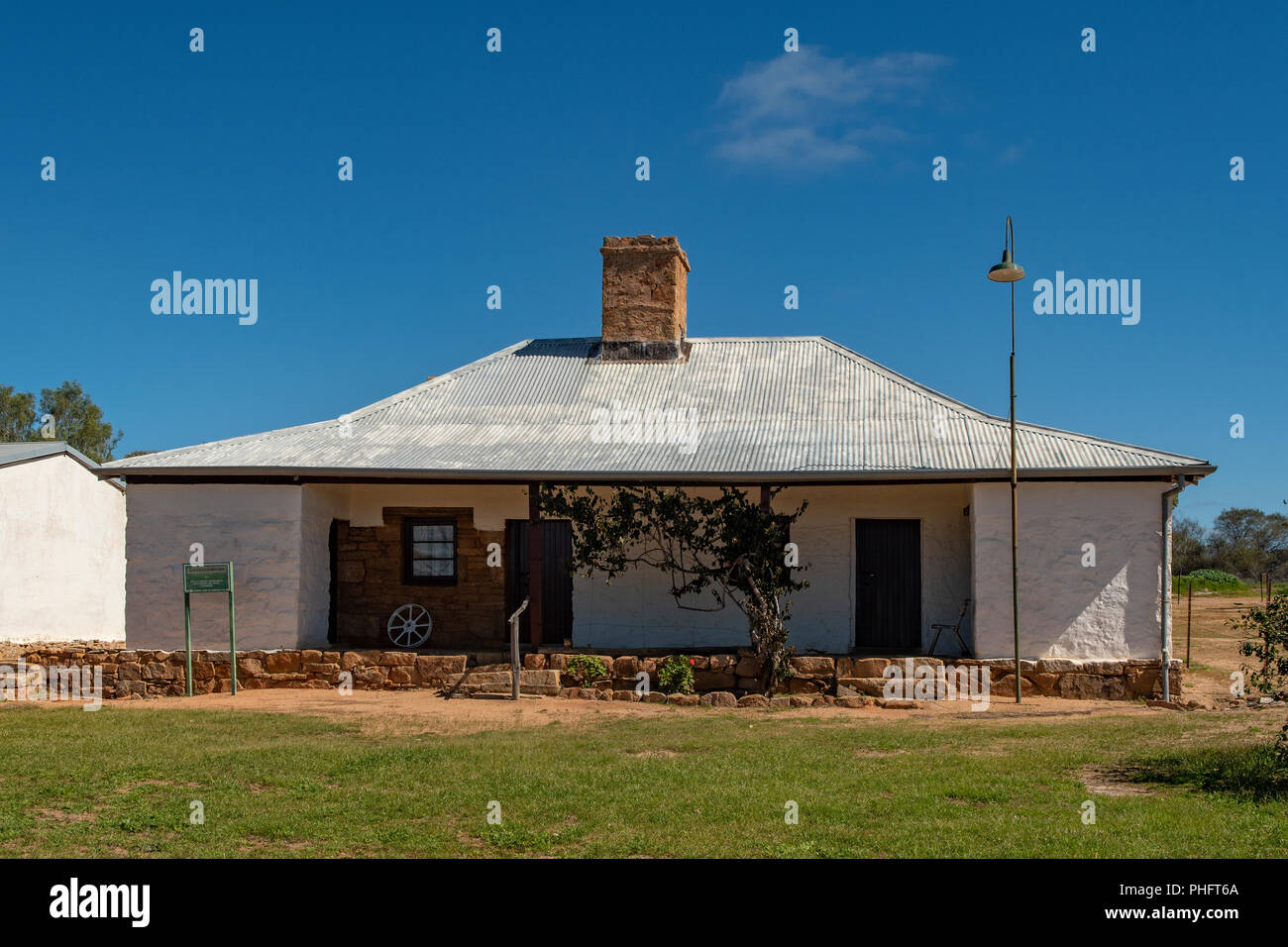 Mangowine Homestead, Nungarin, WA, Australia - Stock Image