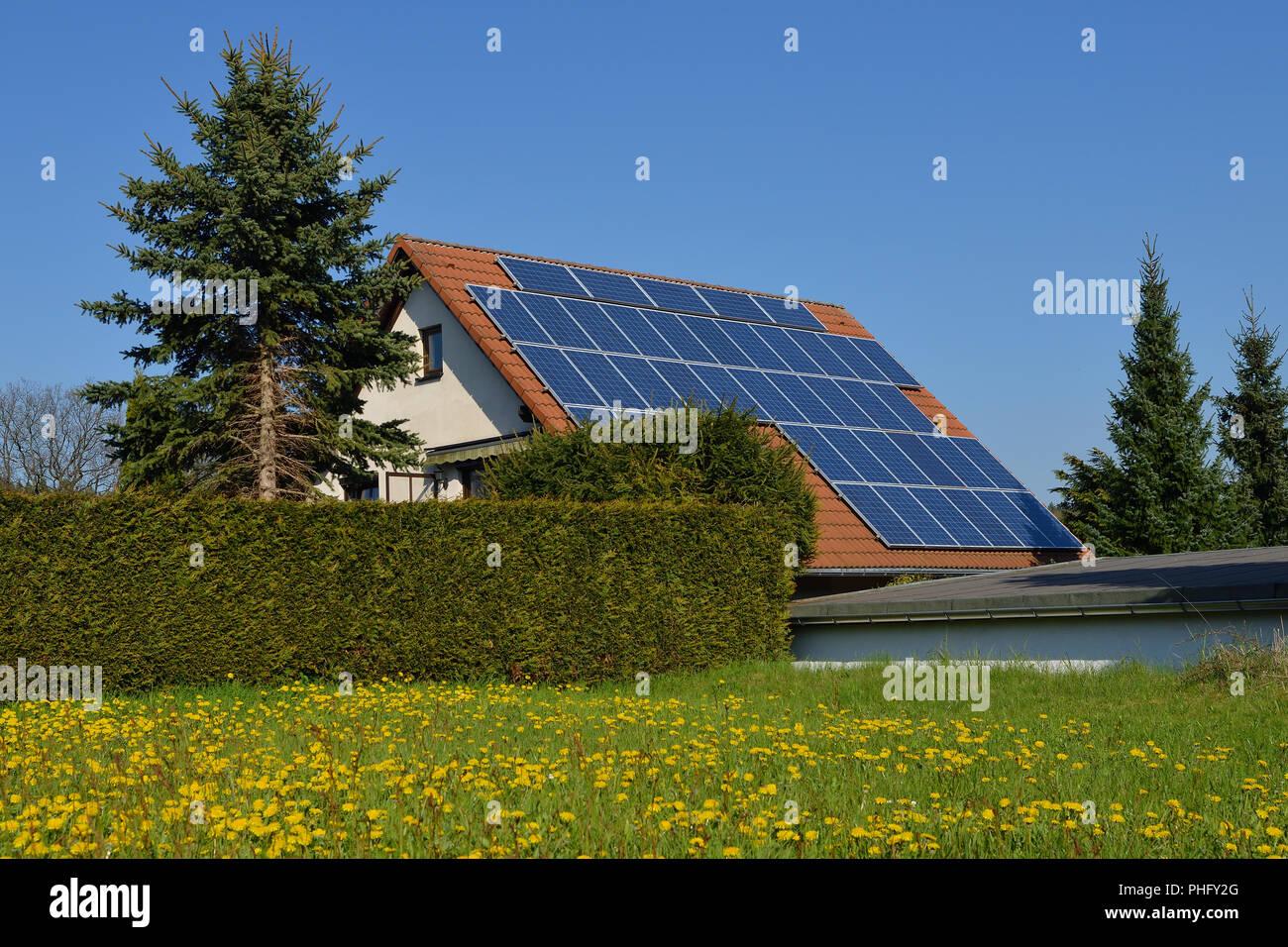 Photovoltaic modules - Stock Image