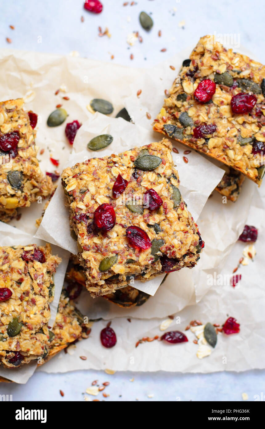 Granola Bars, Healthy Homemade Snack, Superfood Bars with