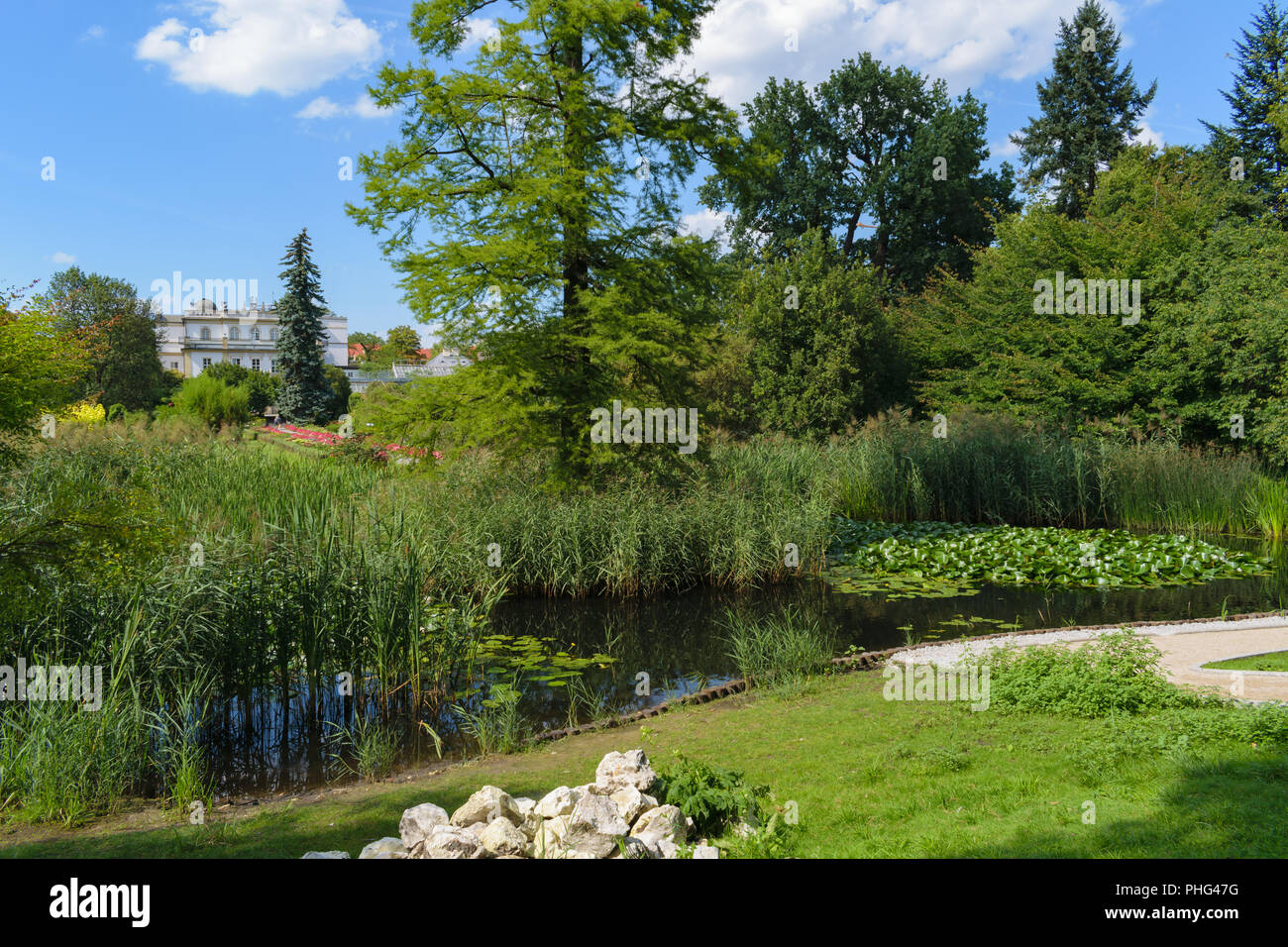 Botanic Garden Of The Jagiellonian University High Resolution Stock Photography And Images Alamy