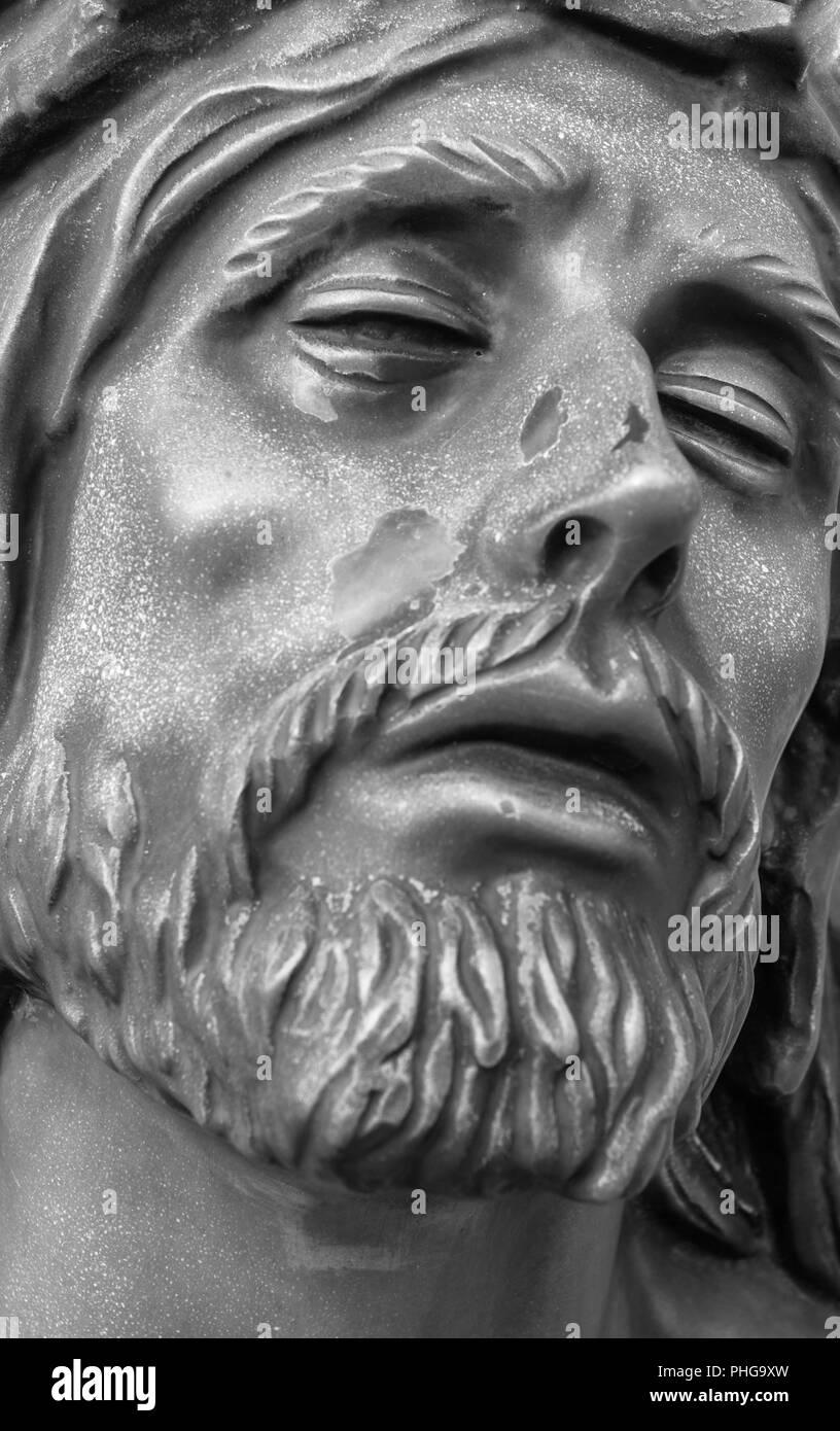 Face of Jesus Christ - Stock Image