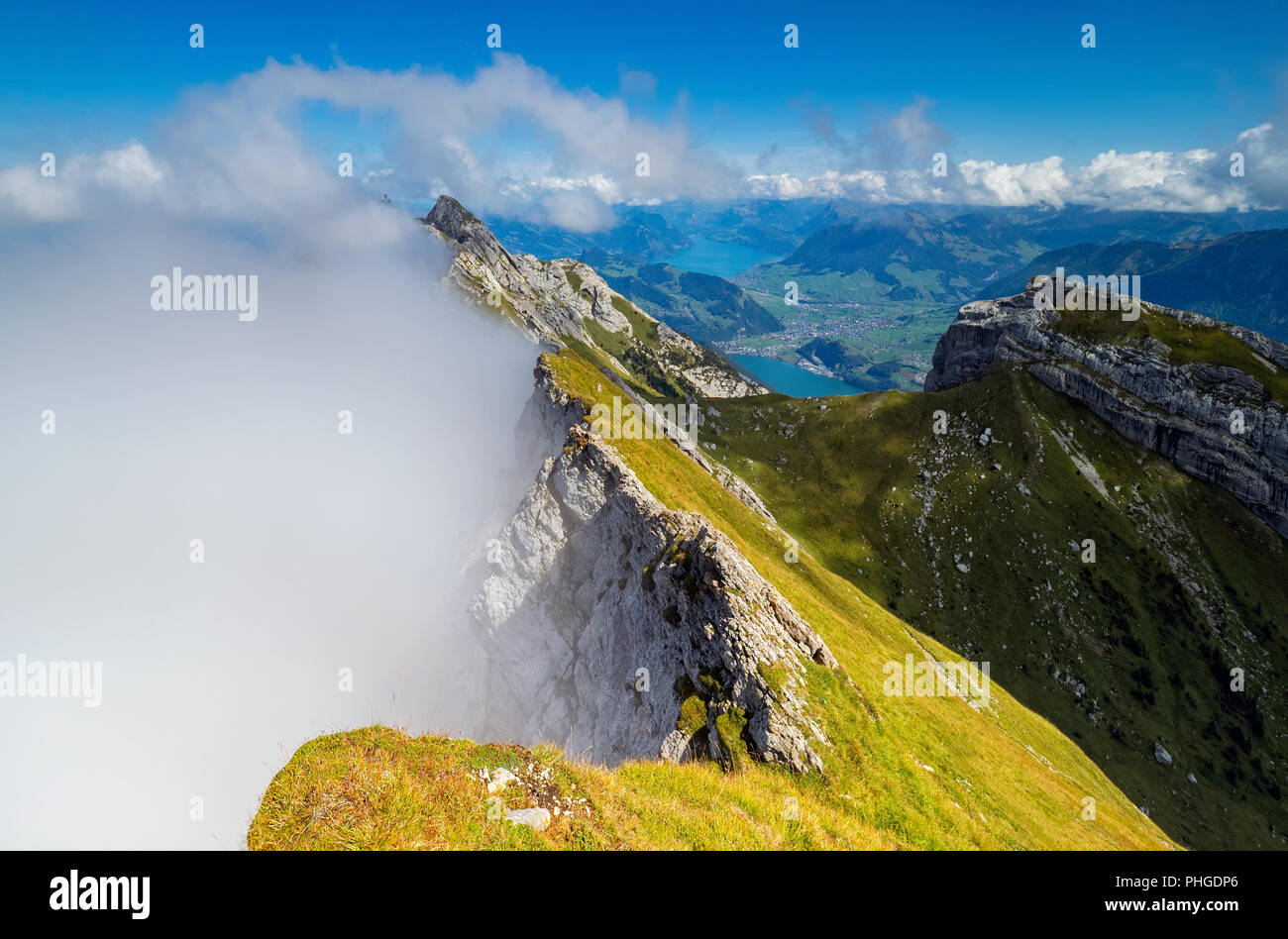 Cloudy Tomlishorn Stock Photo
