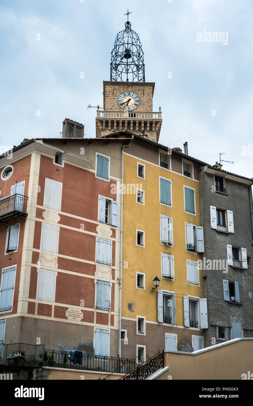 Digne Les Bains France Europe Stock Photo 217337902 Alamy