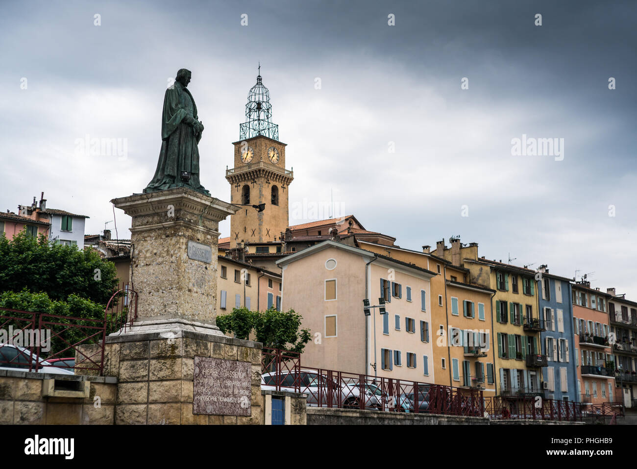 Digne Les Bains France Europe Stock Photo 217338445 Alamy