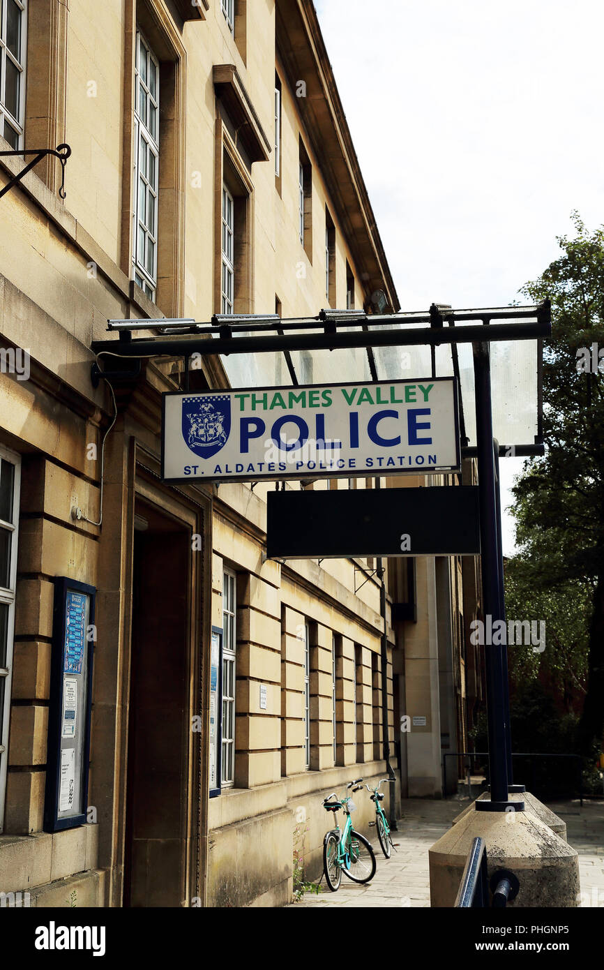 Thames Valley Police Station, St Aldates, Oxford, UK - Stock Image
