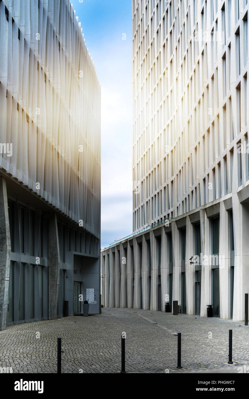 real estate in berlin city Stock Photo
