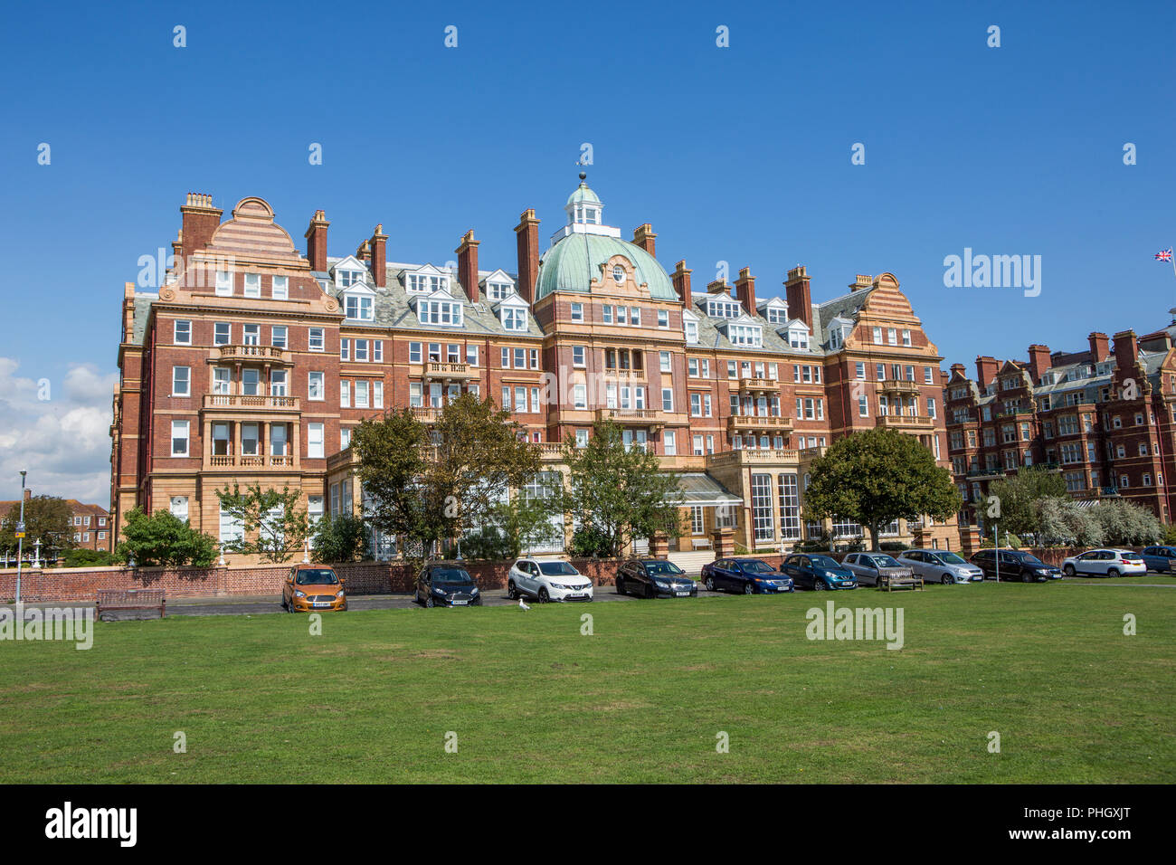 The Metropole, Folkestone - Stock Image