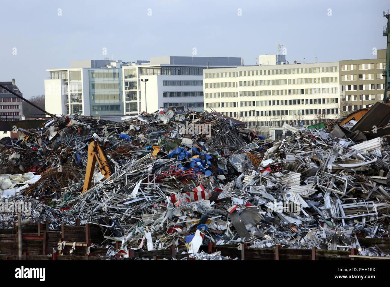 junkyard - Stock Image
