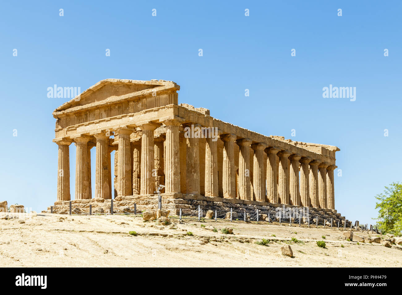 Valley of the Temples, Agrigento, Sicily, Italy - Stock Image