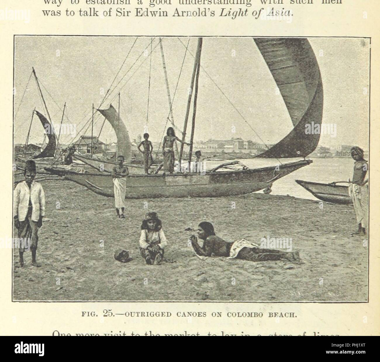 Image  from page 102 of 'A Run round the Empire being the log of two young people who circumnavigated the globe, written out by their father, A. Hill ... With 42 illustrations' . - Stock Image