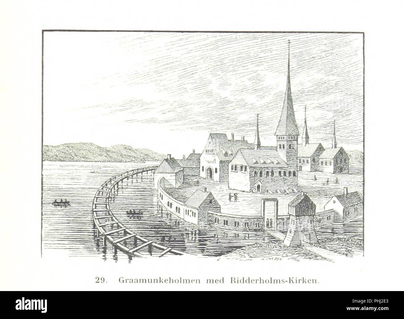 Image  from page 107 of 'Danmarks Riges Historie af J. Steenstrup, Kr. Erslev, A. Heise, V. Mollerup, J. A. Fridericia, E. Holm, A. D. Jørgensen. Historisk illustreret' . - Stock Image