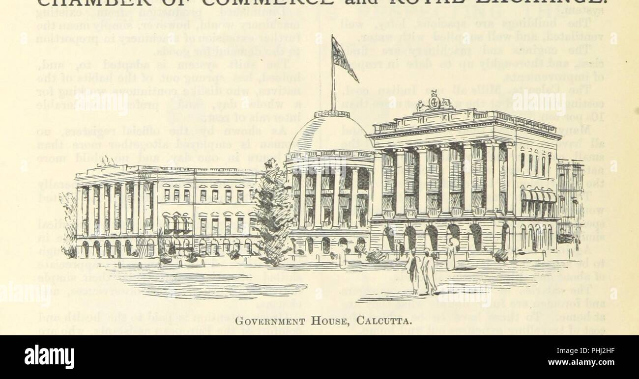 """Image  from page 108 of 'Letters from India and Ceylon, including the Manchester of India, the Indian Dundee, and Calcutta jute mills ... 1895-96. Reprinted from the """"Dundee Advertiser.""""' . - Stock Image"""