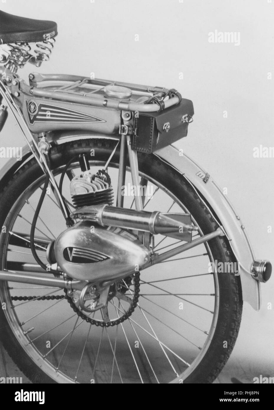 1950s bicycle extra  The german moped and motor manufacturer