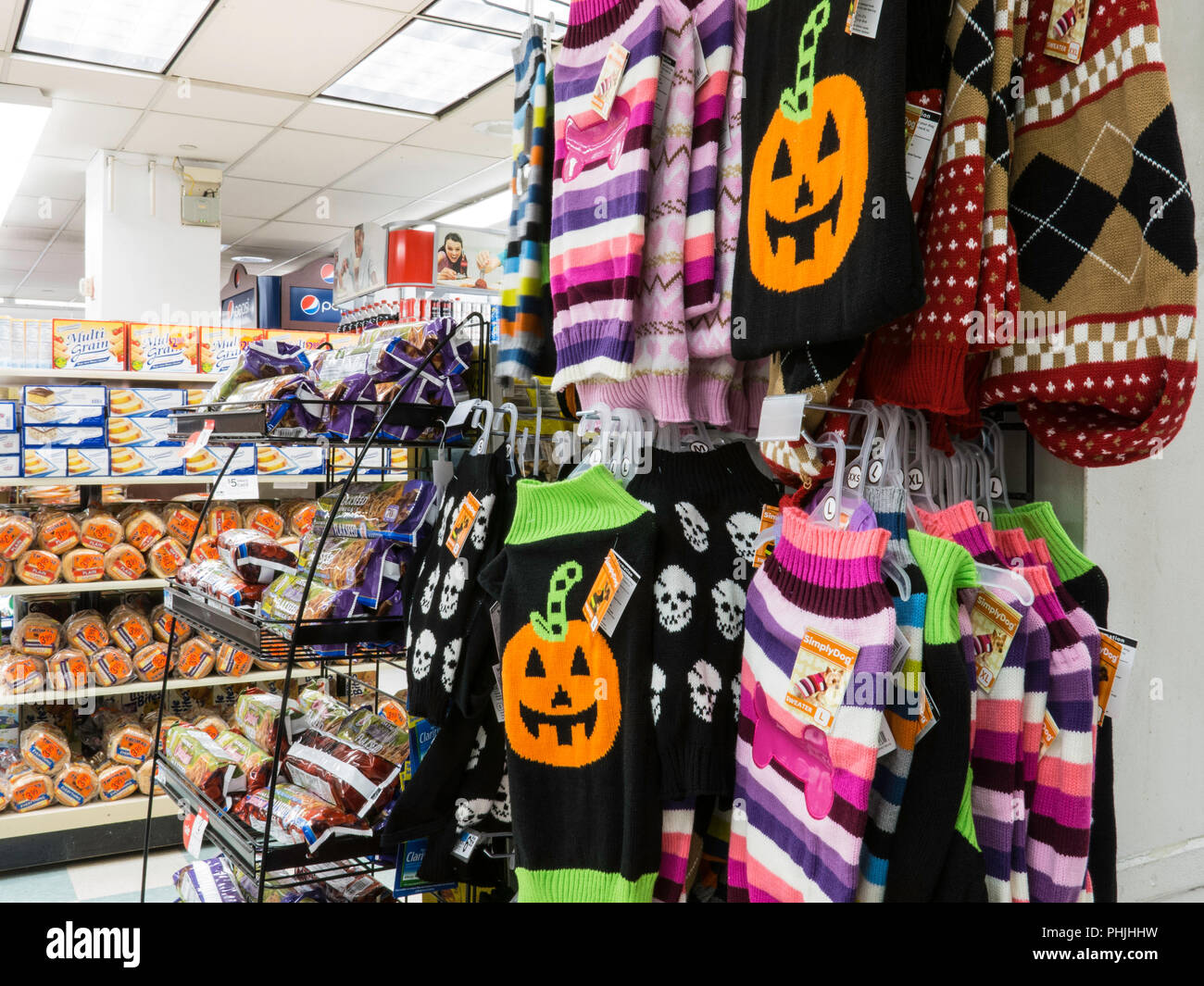 halloween display, nyc, usa stock photo: 217382533 - alamy