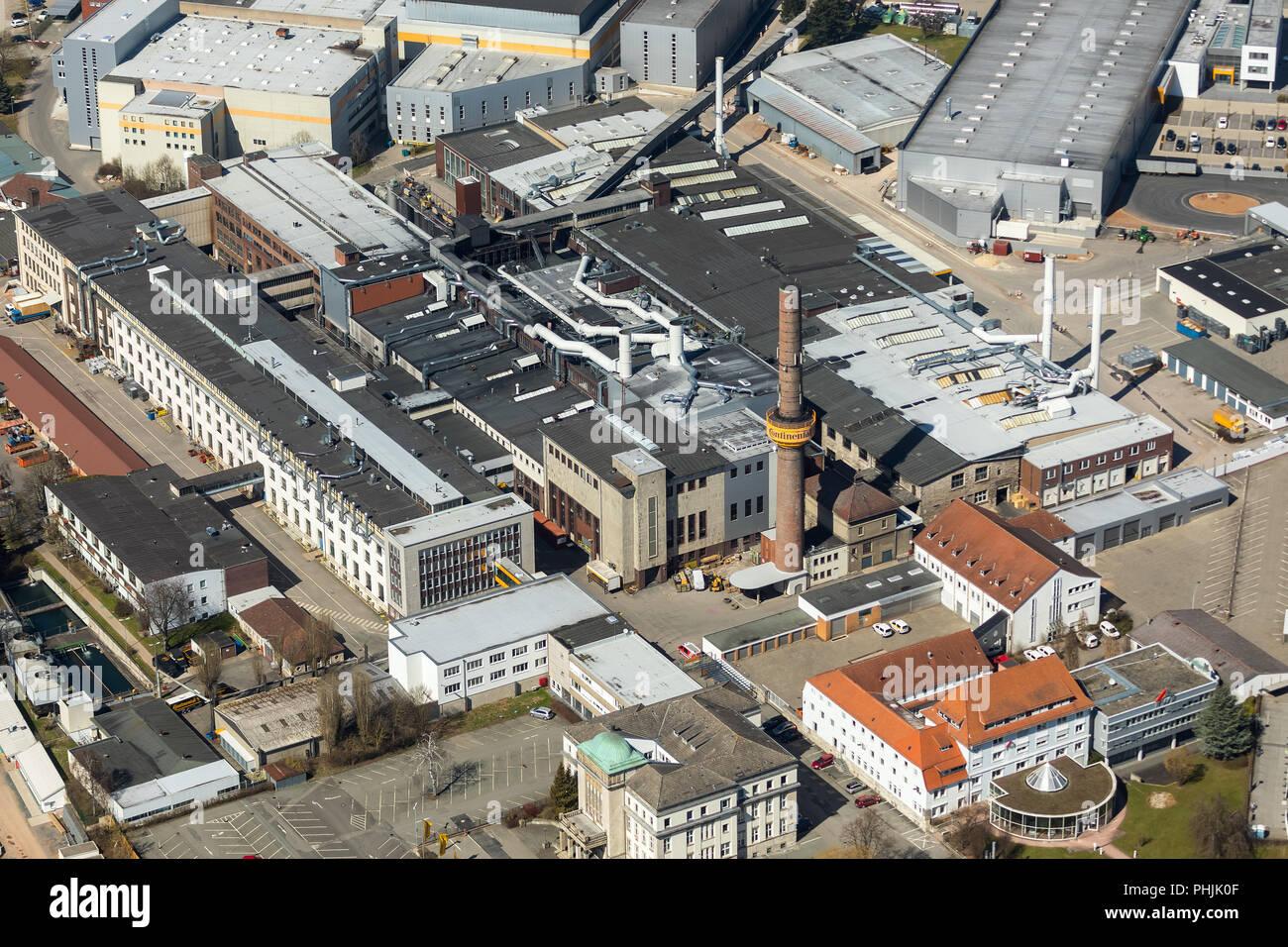 Continental Reifen Deutschland GmbH Korbach plant in Korbach