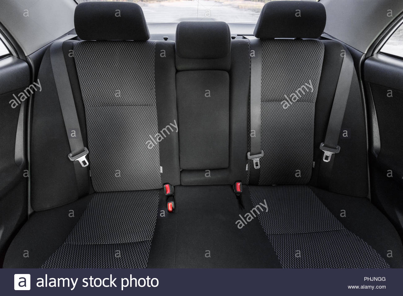 Car Back Seats Stock Photos Images Alamy 1955 Ford Seat Belts Interior Part Of Close Image