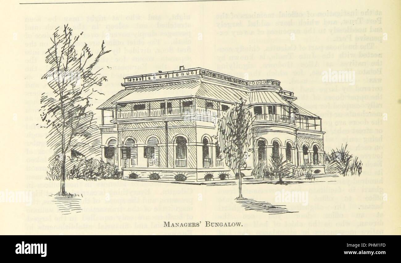 """Image  from page 58 of 'Letters from India and Ceylon, including the Manchester of India, the Indian Dundee, and Calcutta jute mills ... 1895-96. Reprinted from the """"Dundee Advertiser.""""' . - Stock Image"""