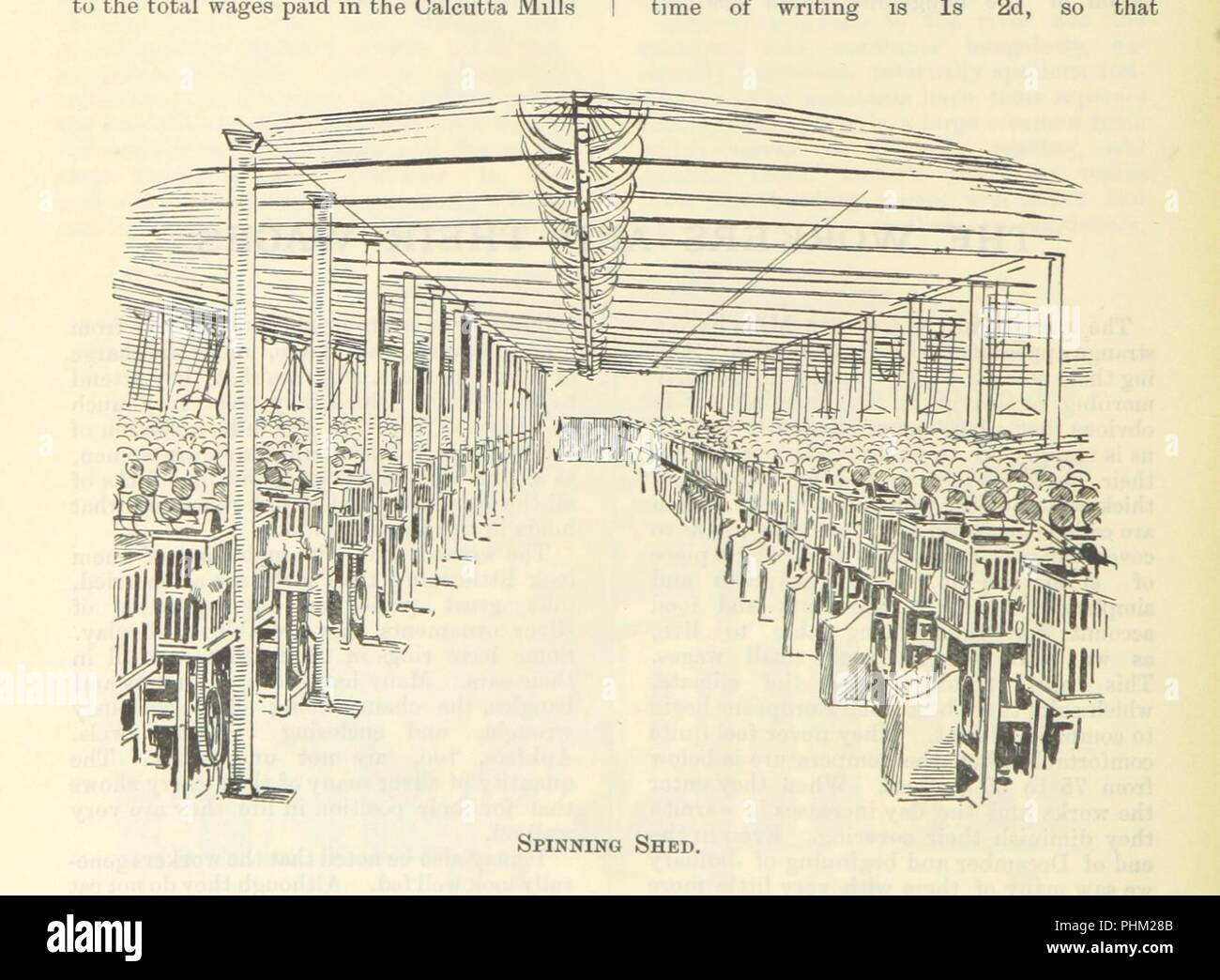 """Image  from page 62 of 'Letters from India and Ceylon, including the Manchester of India, the Indian Dundee, and Calcutta jute mills ... 1895-96. Reprinted from the """"Dundee Advertiser.""""' . - Stock Image"""
