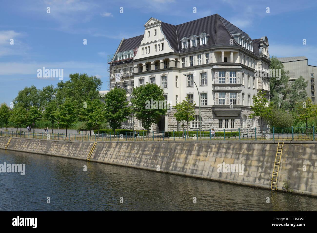Deutsche Gesellschaft fuer Internationale Zusammenarbeit GIZ, Reichpietschufer, Potsdamer Platz, Tiergarten, Mitte, Berlin, Deutschand Stock Photo