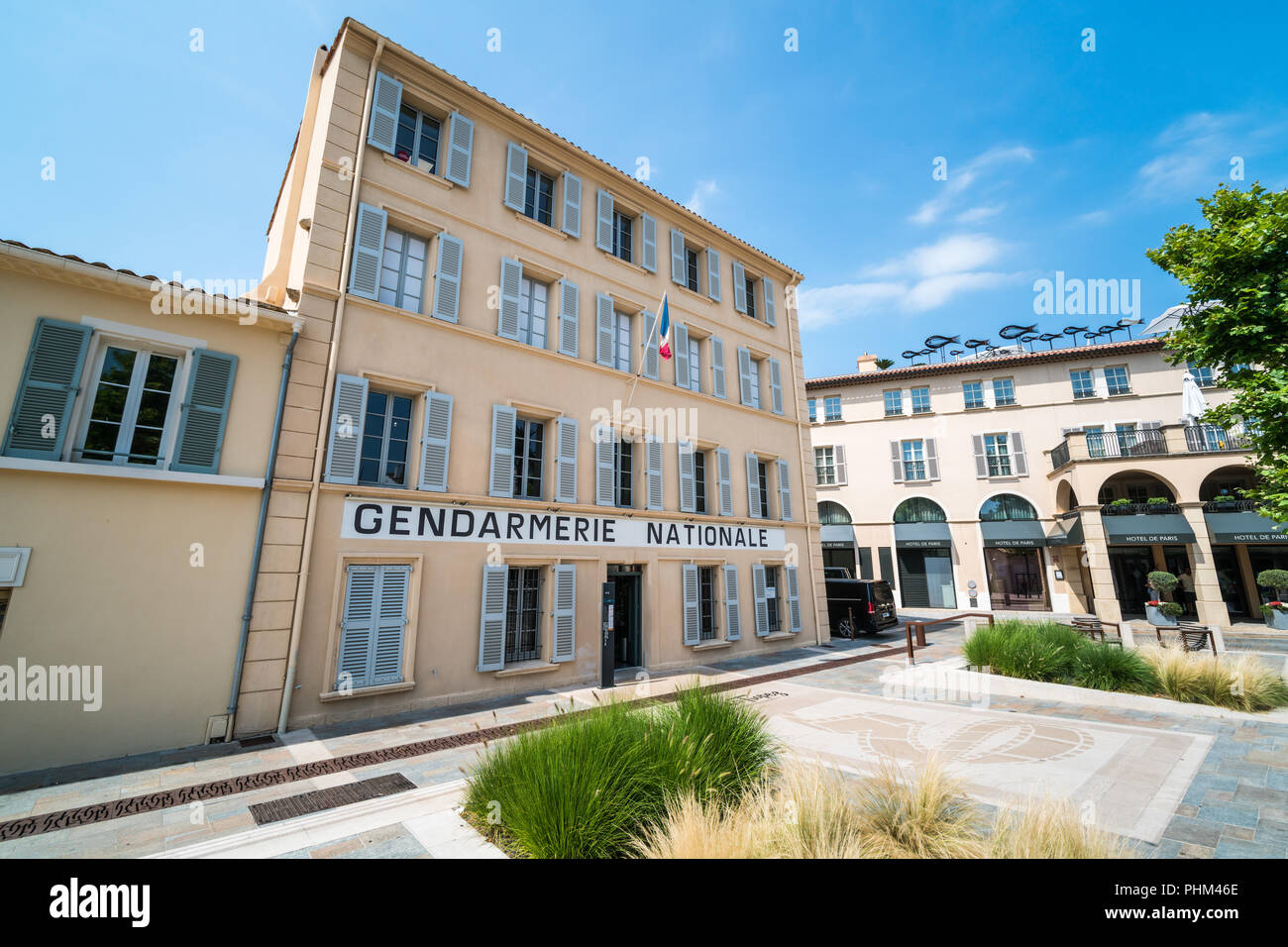 Gendarmerie Nationale Saint Tropez France Europe Stock
