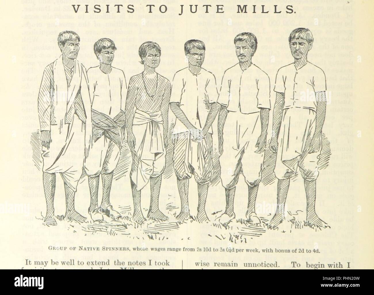 """Image  from page 80 of 'Letters from India and Ceylon, including the Manchester of India, the Indian Dundee, and Calcutta jute mills ... 1895-96. Reprinted from the """"Dundee Advertiser.""""' . - Stock Image"""