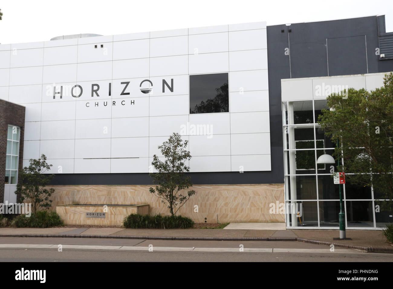 Horizon Church, a Pentecostal Christian church affiliated with Australian Christian Churches, the Australian branch of the Assemblies of God denominat - Stock Image