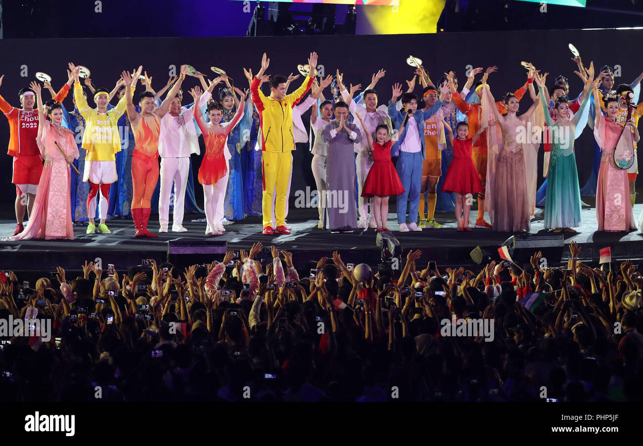 asian games 2019 closing ceremony