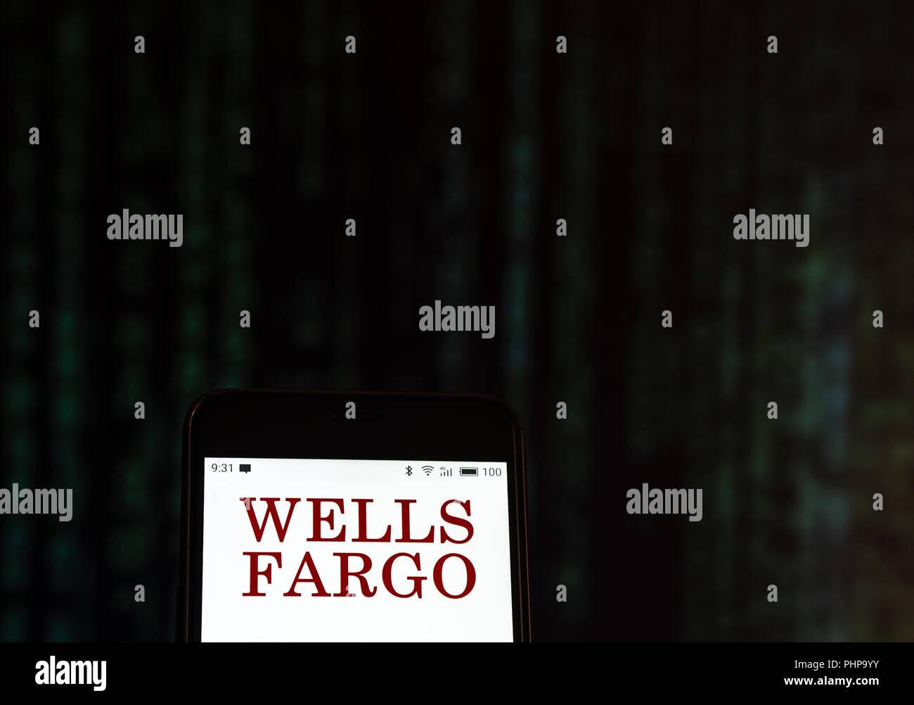 Wells Fargo Wiring Instructions Alabama Trusted Diagram Logo Stock Photos Images Alamy Rj45 Telephone