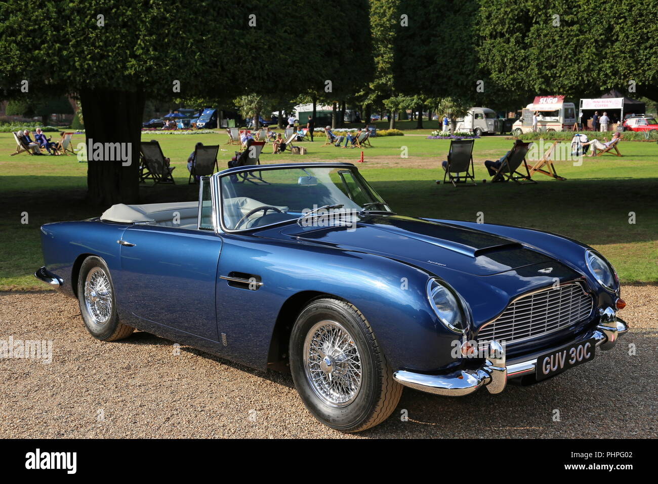 Aston Martin Db5 Convertible 1965 Concours Of Elegance 2018