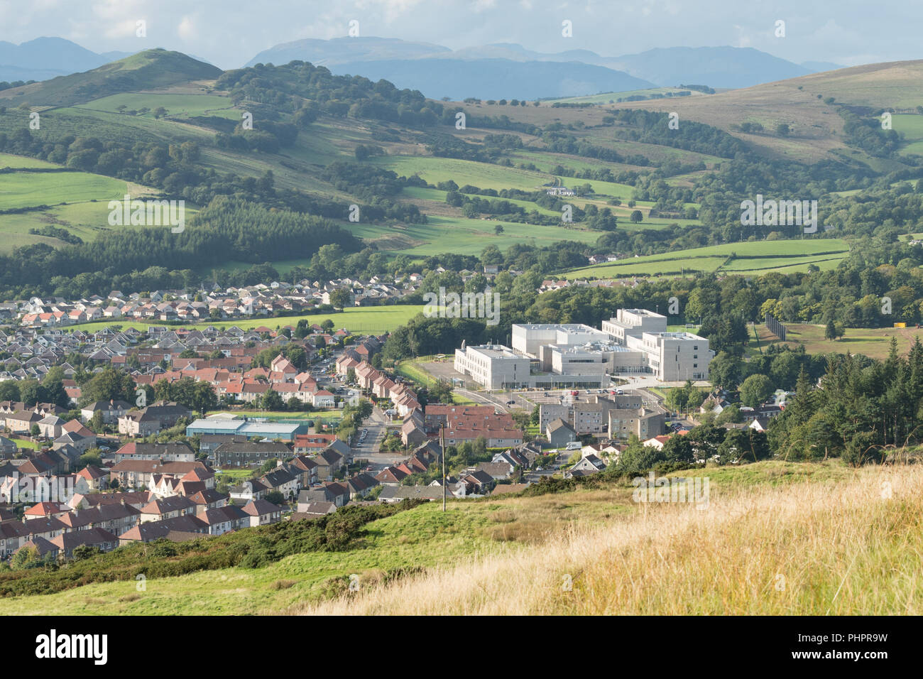 Largs Campus - new school - Largs, Scotland, UK - Stock Image