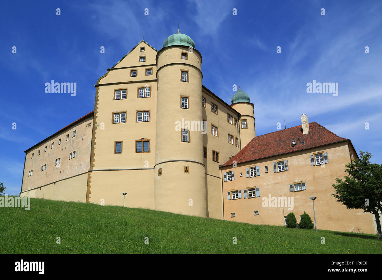 Lauchheim, Kapfenburg Castle, International Musics School Academy - Stock Image