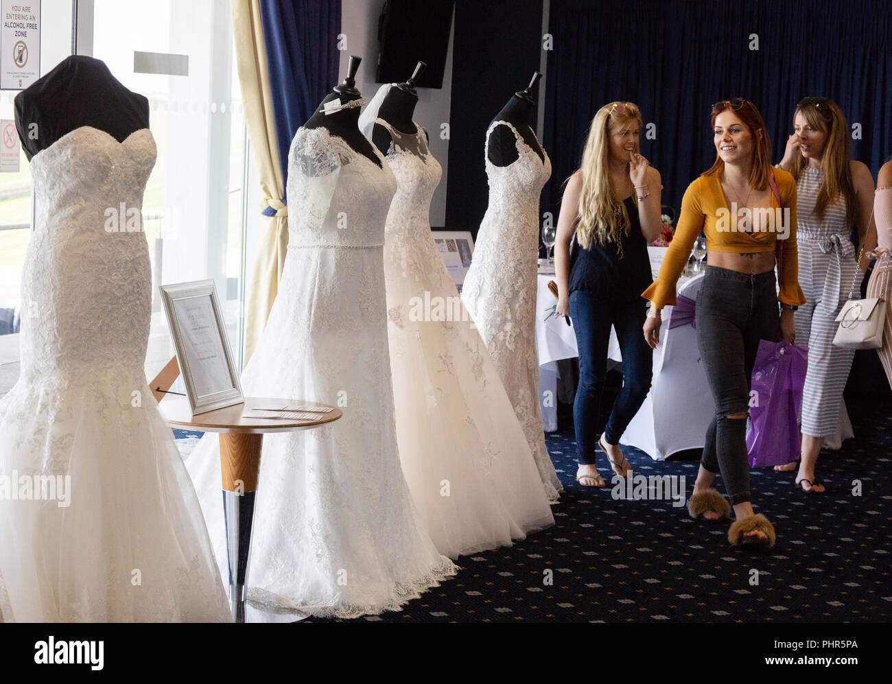 4bd178511ba Wedding Dresses Stock Photos   Wedding Dresses Stock Images - Alamy