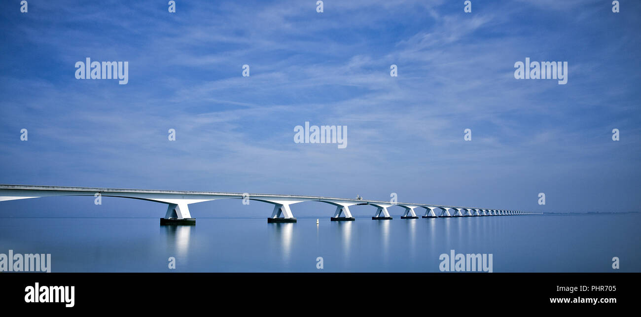bridge over troubled water - Stock Image
