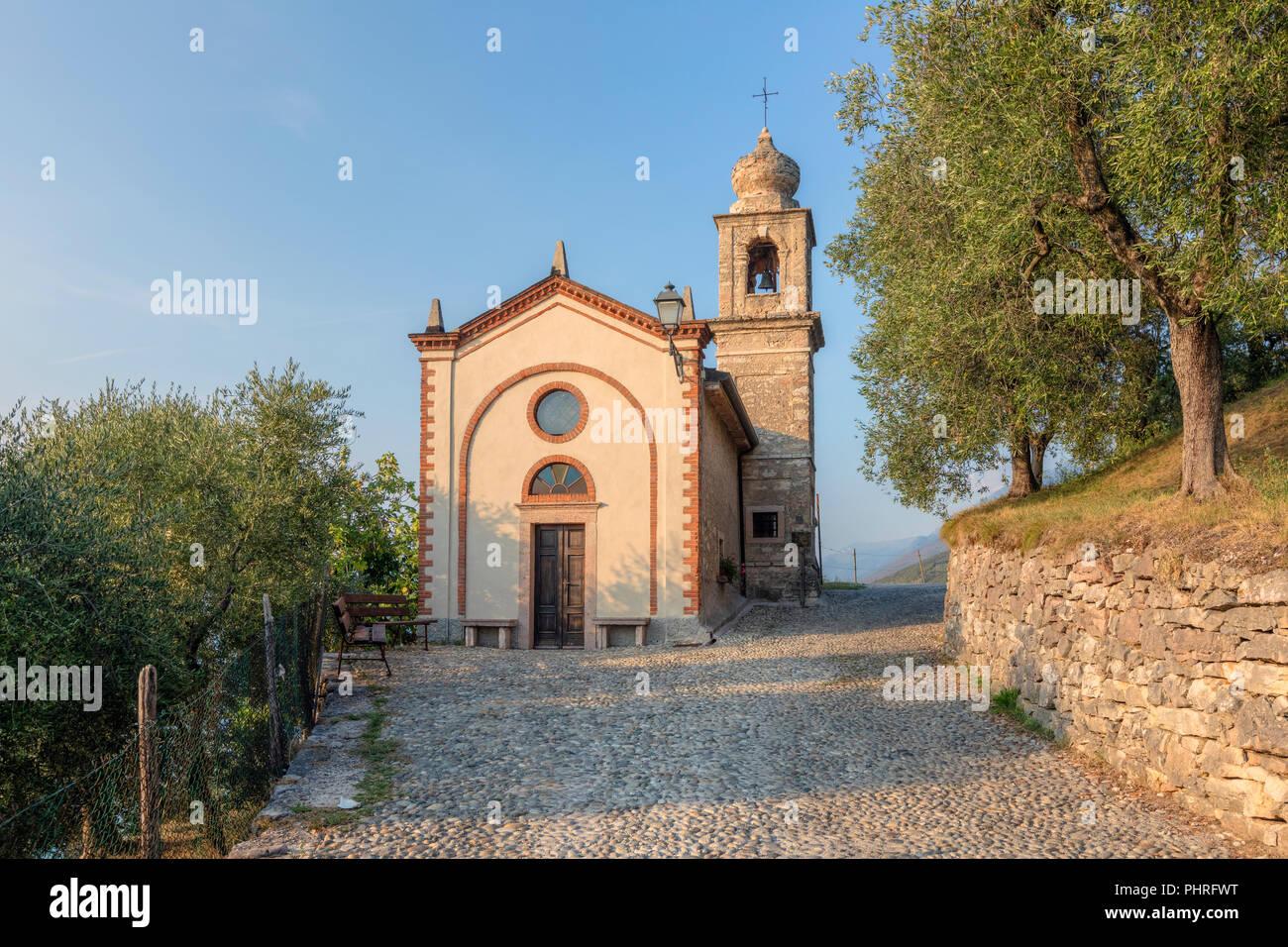 Crero, San Siro, Veneto, Lake Garda, Italy, Europe Stock Photo
