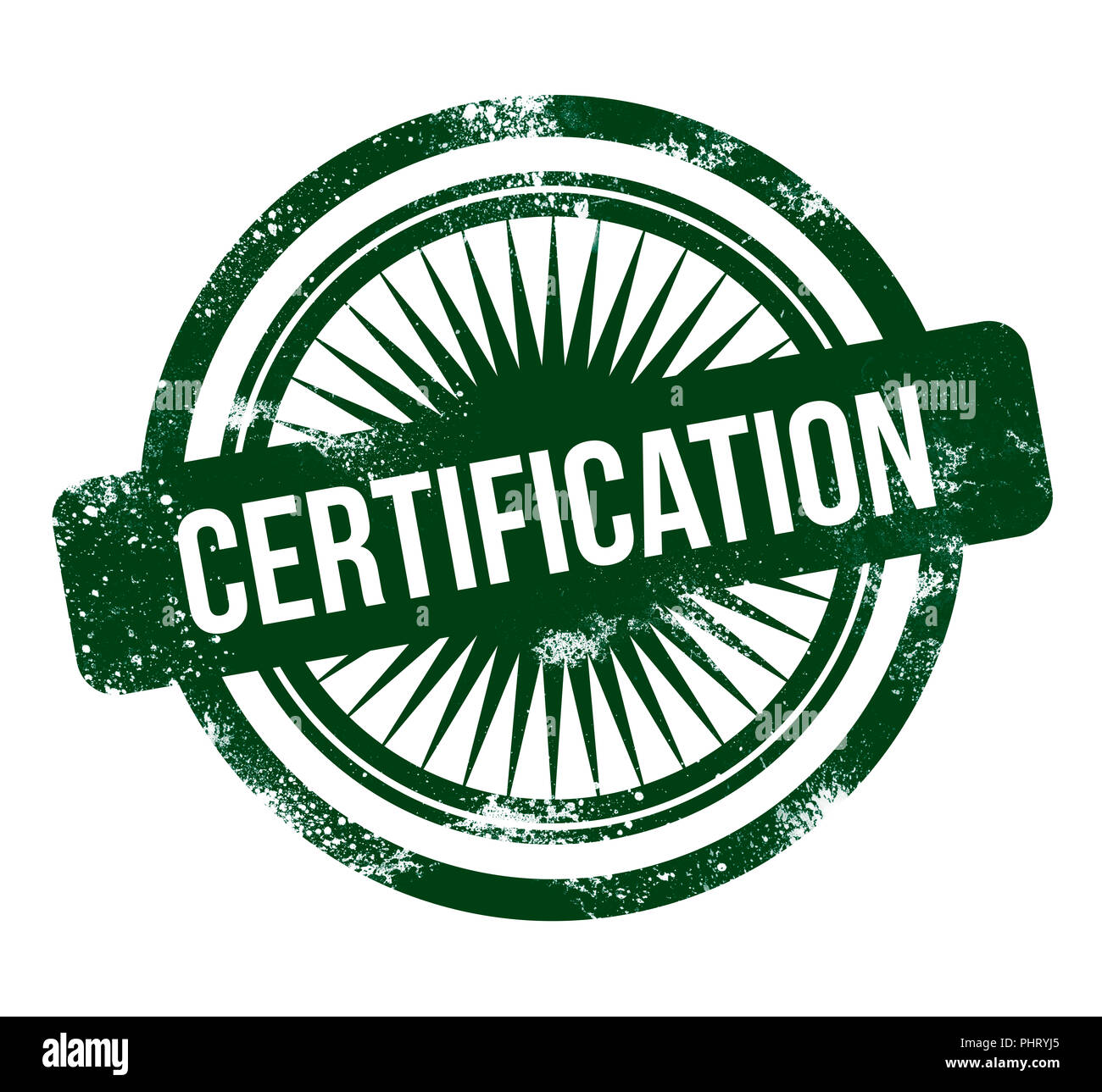 Certification Stamp Stock Photos Images