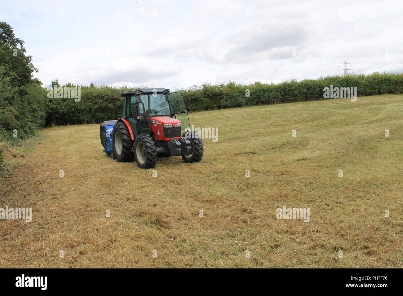 Flail Mower Stock Photos & Flail Mower Stock Images - Alamy