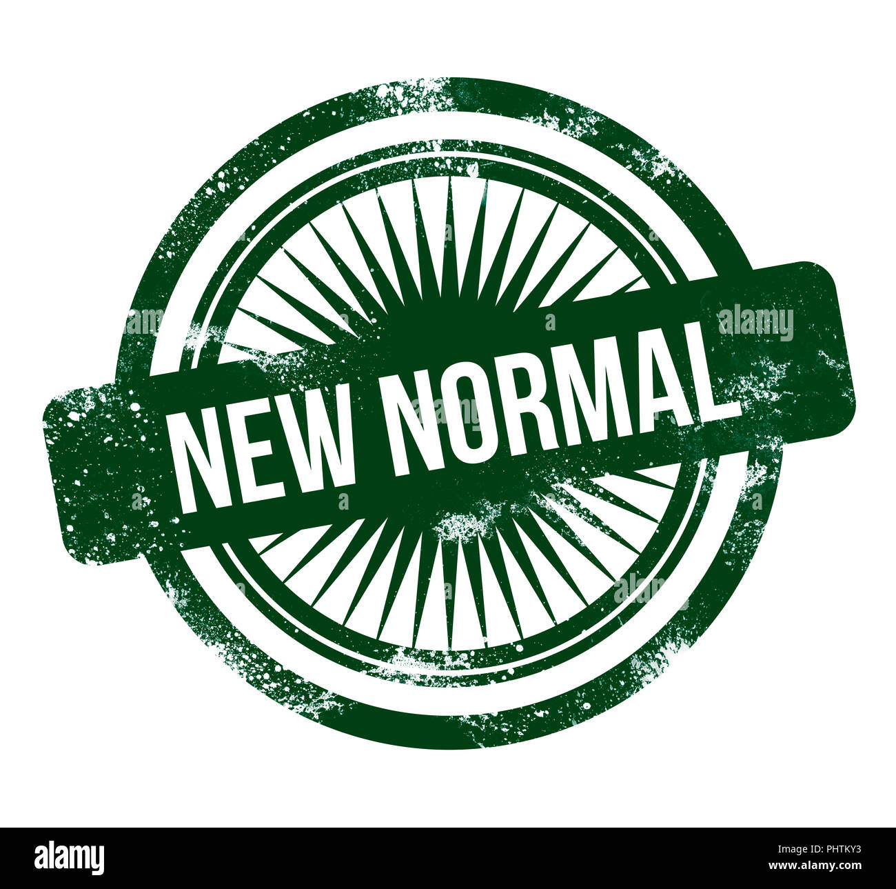 New Normal Green Grunge Stamp Stock Photo 217516071 Alamy