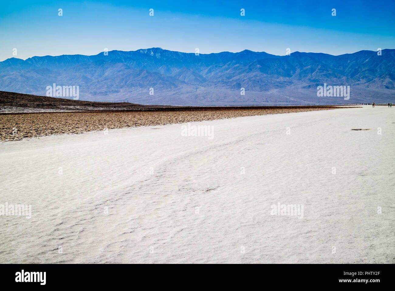 Mesquite Flat sand dunes in Death Valley National Park Stock Photo