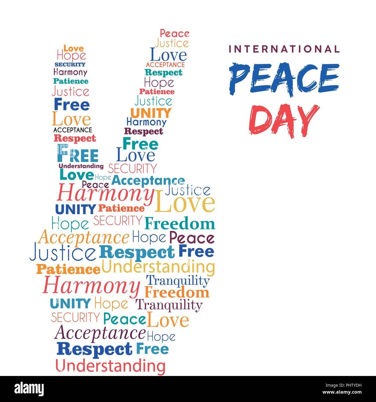 World Peace Day Illustration For International Freedom And Holiday