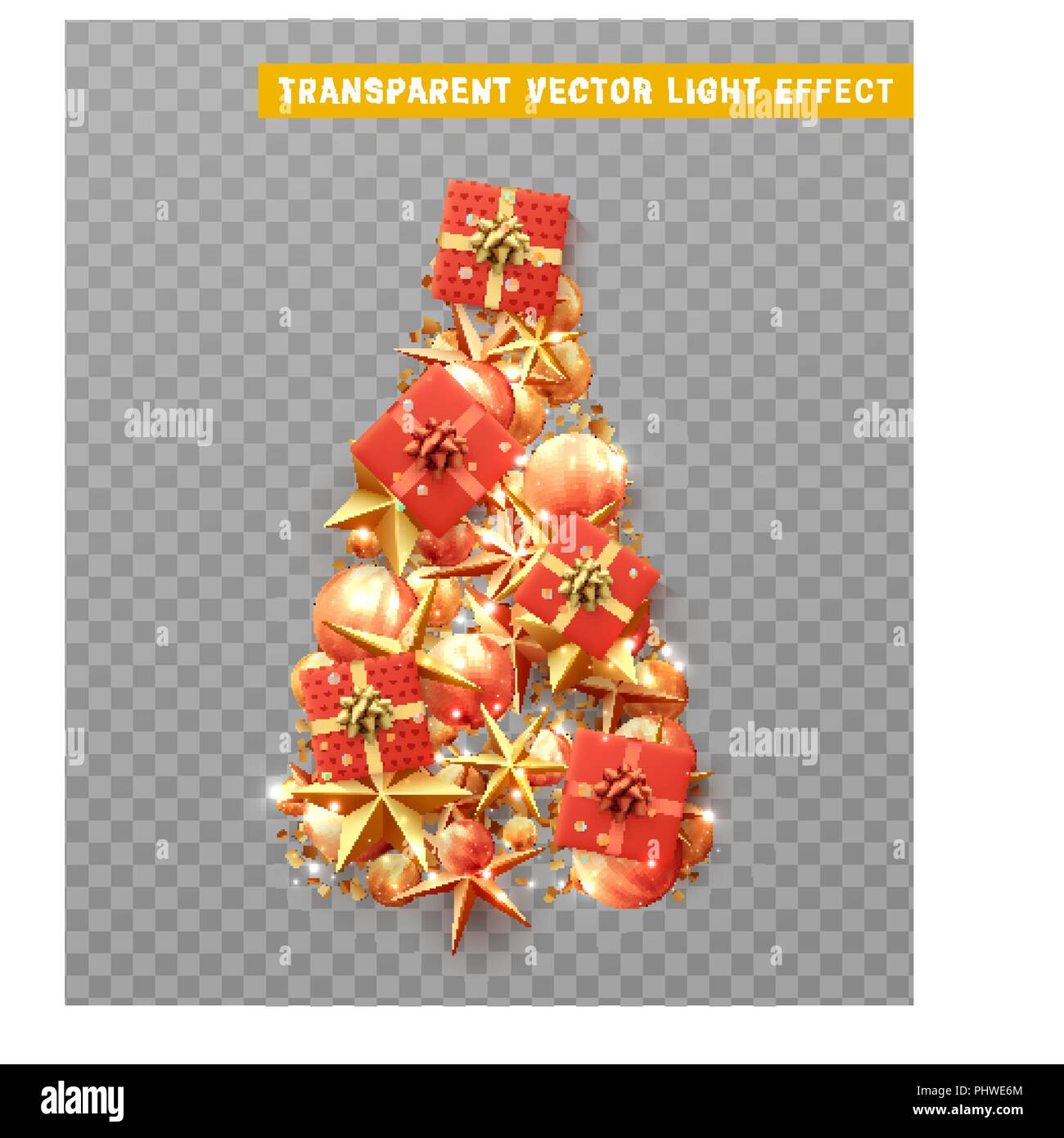 Vector Isolated On A Transparent Background Creative Composition In