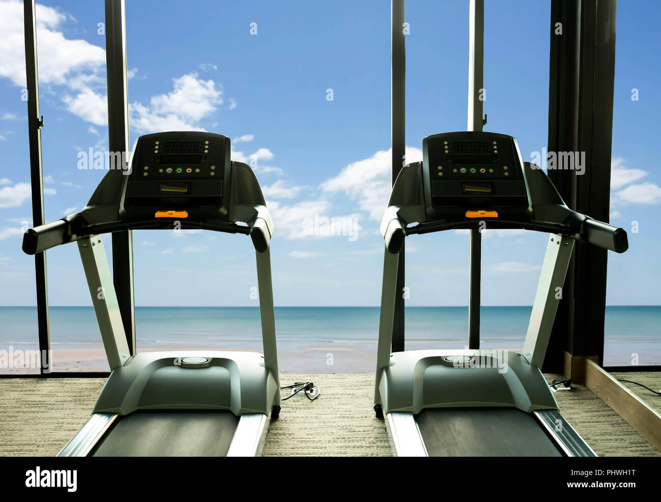 Concept Health Care Treadmill In Fitness Gym Stock Photo 217535748