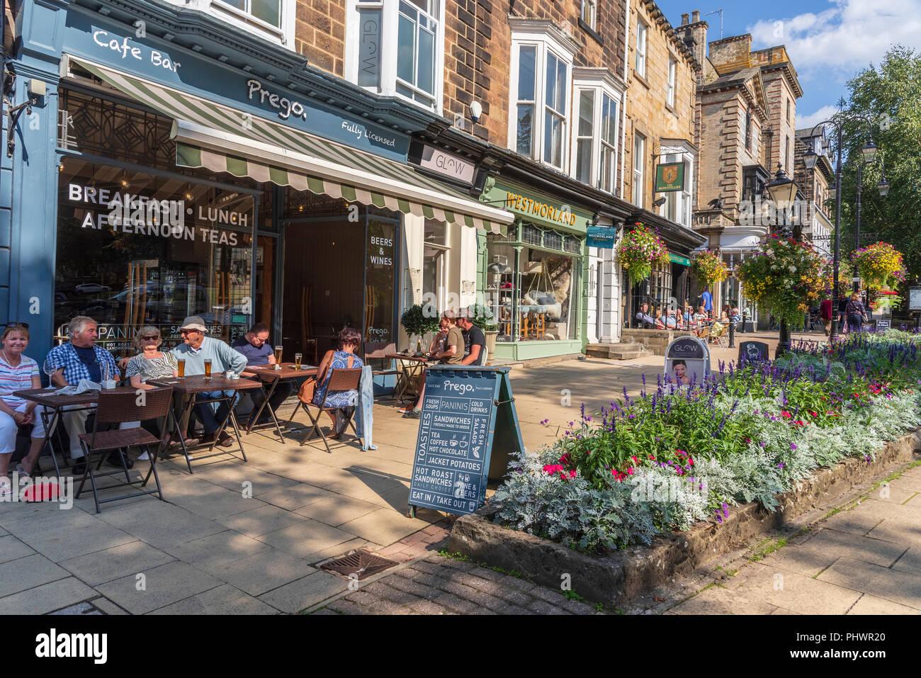 Harrogate North Yorkshire. Montpellier Gardens. Stock Photo