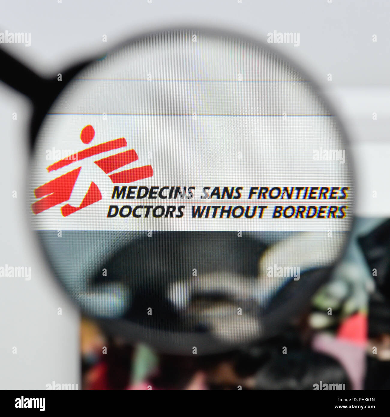 Milan Italy August 20 2018 Doctors Without Borders Website