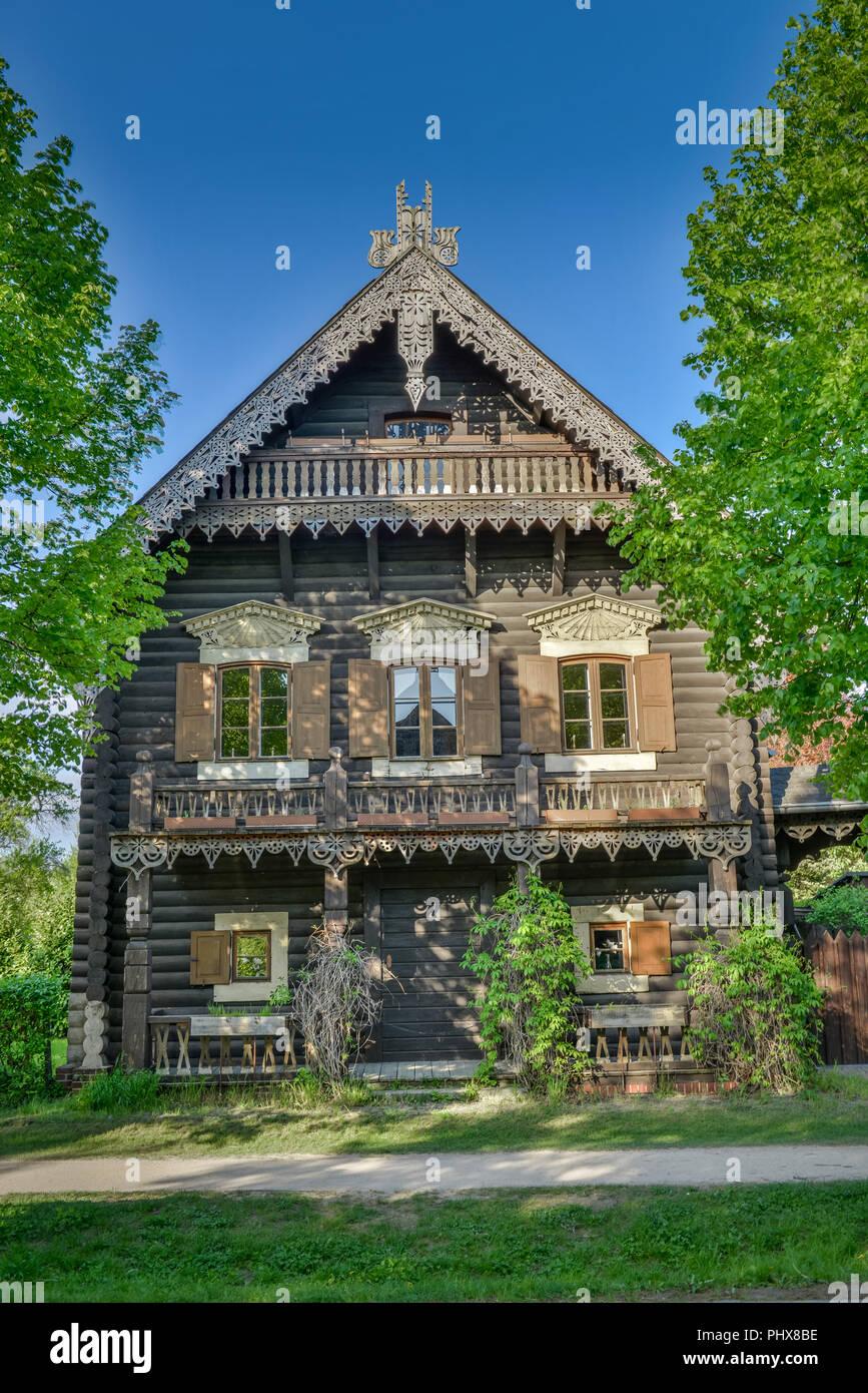 Bemerkenswert Russisches Holzhaus Galerie Von , Russische Kolonie Alexandrowka, Potsdam, Brandenburg, Deutschland
