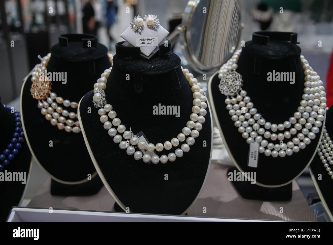 London Uk 3 September 2018 International Jewellery London Ijl The
